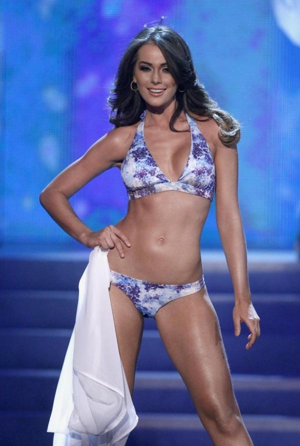 Venezuela's Irene Esser  in swimsuit.