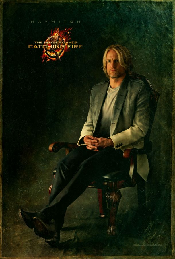 Haymitch Abernathy, mentor of District 12 and victor of the Second Quarter Quell.